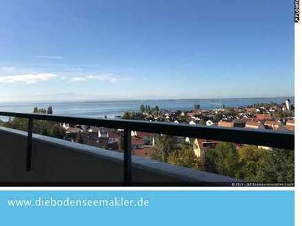 Fantastische See- sowie Alpensicht mit renovierter 3,5 Zimmer Wohnung zu verkaufen