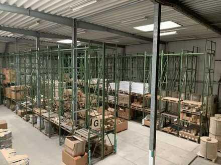 RUDNICK bietet ATTRAKTIVE GEWERBEHALLE: Ideal für Produktion, Büro, Werkstatt & Lager mit PV-Anlage