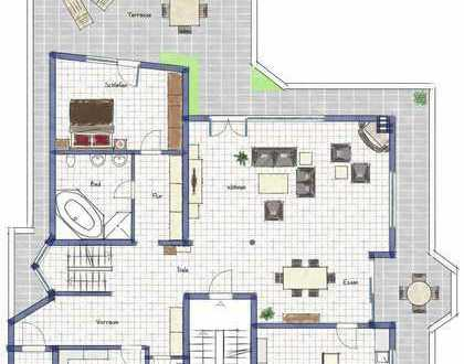Penthousewohnung in Neuhausen/Filder