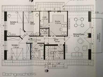 Neuwertige 4-Zimmer-Wohnung mit Balkon in Weyhe