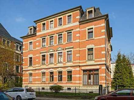 Kapitalanlage mit Garten /// Vermietete 2-Zimmer-Wohnung in Löbtau
