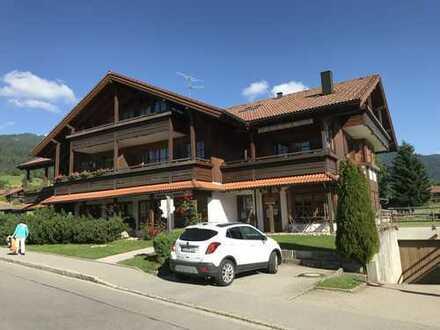 Schöne, möblierte zwei Zimmer Wohnung im Oberallgäu, Obermaiselstein zur Langzeitmiete