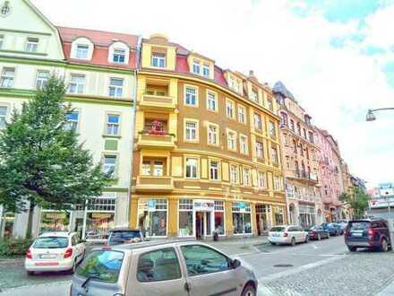 Moderne 3-Raum Wohnung mit Süd-West-Balkon in Bautzen