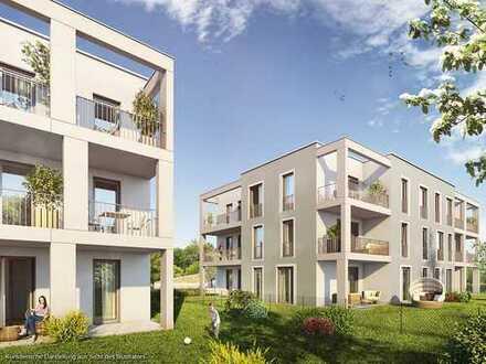 Kompakte 2-Zimmer-Balkonwohnung mit sonnigem Südbalkon und großem Wohn-Ess-Koch-Bereich