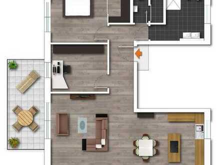 Neubau- 3,5 Raum-Wohnung in schöner Lage in Essen Bergerhausen