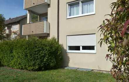 Modernisierte 3-Zimmer-Wohnung mit Terrasse und Einbauküche in Oberndorf a. N.