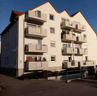 Günstige, geräumige und gepflegte 1-Zimmer-Wohnung mit Balkon in Großröhrsdorf