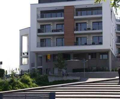 Moderne, helle 4-Zimmer-Wohnung mit 2 Balkonen und Seeblick