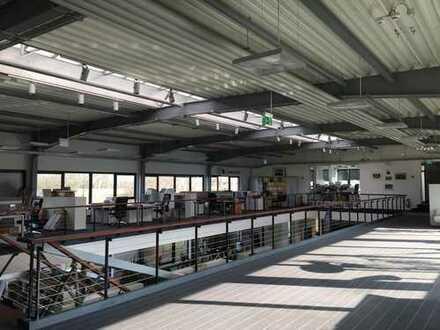 Bürofläche mit 50 m² + gemeinschaftlich genutzt: große Küche, Meeting Räume, Parkplätze, WCs, Empfan