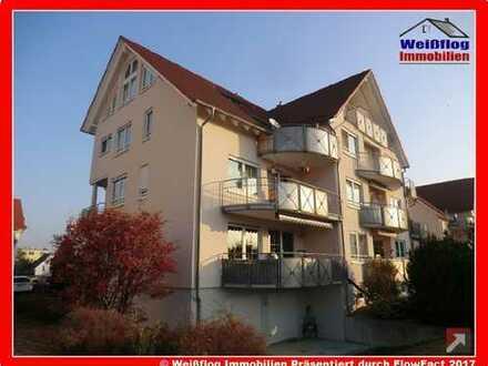 Vermietete 2 Zimmer Dachgeschosswohnung mit Balkon