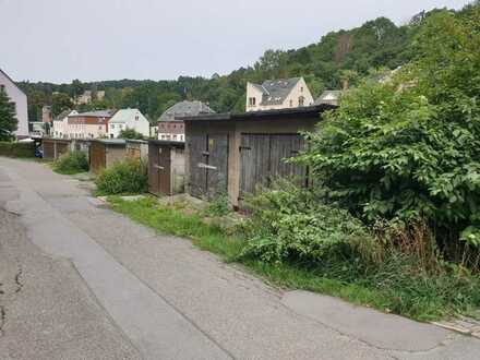 Garagengrundstück am Fluss Würschnitz