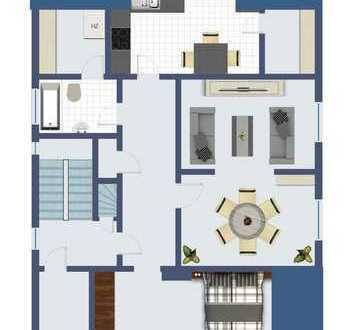 Dachgeschosswohnung für 2 Personen zentral in Lünen gelegen