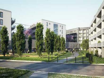 Moderne 2-Zimmer-Gartenwohnung mit eigenem Zugang und 2 Terrassen im Herzen der Stadt!