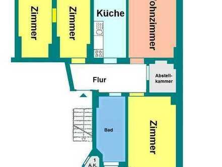 Sanierte 4 Raum-Wohnung ab Dezember 2019 zu vermieten!