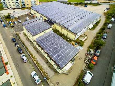 Produktion/ Lager & Büroflächen/ mit Vorplanung für 8 x Betriebs-Wohnungen / gute Rendite