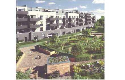 Zwei-Zimmer-Wohnung, Beuel, m. Terrasse und Garten, Erstbezug