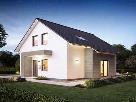 Kompaktes Einfamilienhaus mit Raum für Ihre individuellen Wünsche