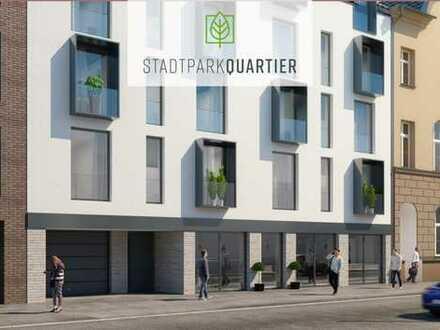 Neubau - STADTPARK QUARTIER - Haus 1 / Gewerbe EG