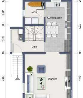 Charmante Maisonette Wohnung mit Reihenendhaus Charakter