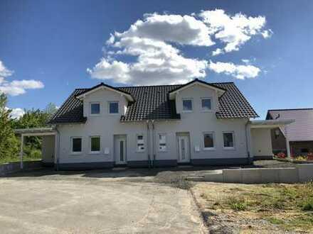 Erstbezug, Neubau in Bovenden, DHH 4 ZKBT + Gäste-WC + Garten auf ca. 142 qm Wfl.