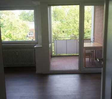 Schönes 1-Zimmer-Appartement möbliert mit Balkon in Münster-Roxel