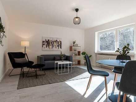 Stilvolle, modernisierte 2-Zimmer-Wohnung mit Balkon in Aschaffenburg