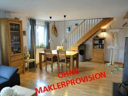 Moderne Wohnung auf zwei Ebenen !
