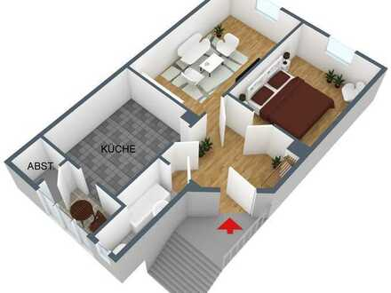 Schöne 2 Raum Wohnung Nähe Zentrum