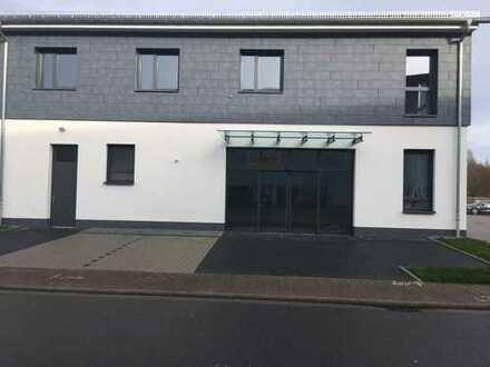 Erbach Odw. Teilbereich eines Neubaus im Gewerbegebiet
