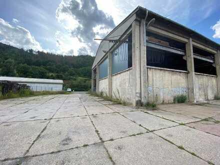 Große Lagerhalle in Kaulsdorf