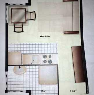 Schöne 1-Zimmer Wohnung in Reutlingen (Kreis), Bad Urach