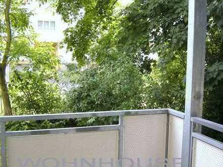 +++2-Zi.Whg. mit großem Balkon+++Sichtschutz+++Stellplatz möglich !! Dölitz+++