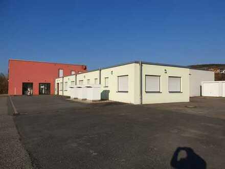 Produktions- und Lagerfläche mit Laden und Büroflächen, teilbar