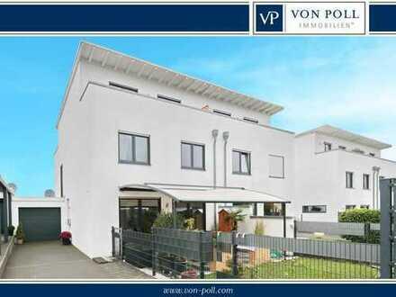 Nur wenige Minuten bis nach Köln: Moderne Doppelhaushälfte in Königsdorf