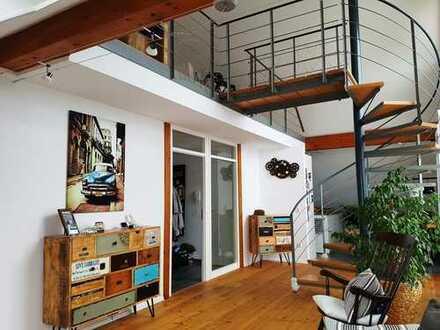 Vollständig renovierte 4-Zimmer-Maisonette-Wohnung mit Balkon und Einbauküche in Igersheim