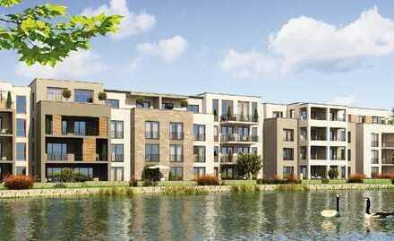 Moderne 2-Zimmer-EG-Wohnung mit Garten am See - im Kenzinger Quartier am Wasser · Haus 1