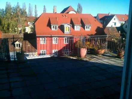 Nachmieter gesucht: Schöne 2ZKB-Whg, Insel, Dachterrasse, EBK, Garage