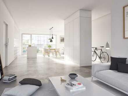 Helle 5-Zimmerwohnung mit Blick auf das Gasometer - Innenarchitektur aus jedem Blickwinkel