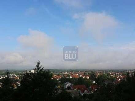 Traumhafte Aussichtslage : Rohbauland-Grundstück in begehrter Hanglage von WEINGARTEN !!