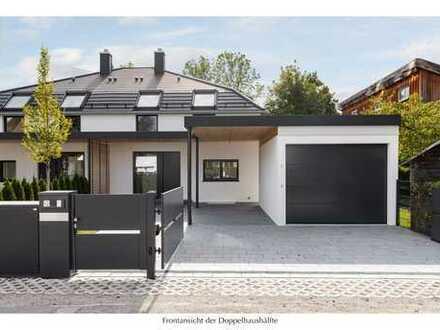 Zukunftswohnen. Höchste Bauqualität. Familienfreundliche Doppelhaushälfte in Gröbenzell