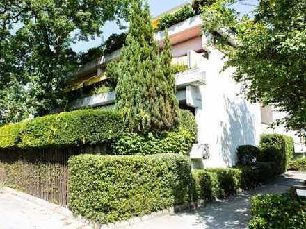 top renovierte 2-Zimmerwohnung in Bestlage Obermenzing mit großer Loggia und Balkon