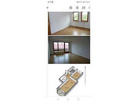 2-Zimmer-Wohnung mit Balkon und Einbauküche in Ludwigsburg Poppenweiler