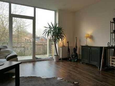 Gartenstadt Mühlenhof - moderne 2 ZKB mit Balkon und Blick ins Grüne