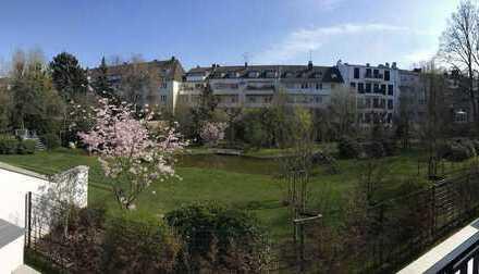 Premium Wohnung für höchste Ansprüche Teilmöbliertes 2-Zimmer Apartment in Alt-Oberkassel!