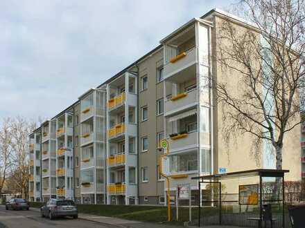 Wunderschöne 4-Raumwohnung mit Balkon, Fußbodenbelag und Innentüren NEU!