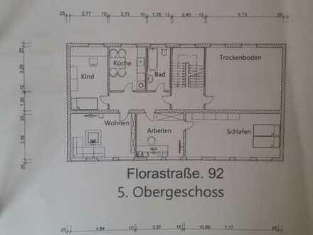 430.0 € - 84.0 m² - 4.0 Zi. Altstadt Gelsenkirchen. 5 O.G