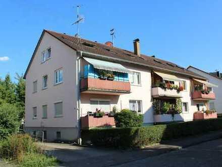 Drei-Zimmerwohnung mit Balkon und Stellplatz
