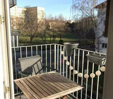 Exklusive, gepflegte 2-Zimmer-Wohnung mit Balkon direkt am Campus Westend