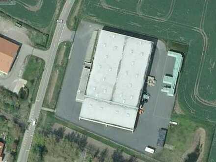 temperiertes Lager + Büro - moderne Logistikanlage