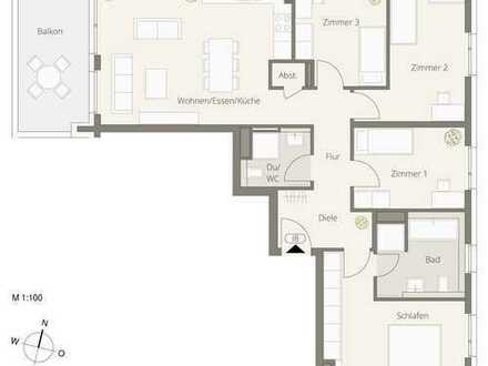 5,5 Zimmer Familienwohnung *** Obere Ziegelei *** Das neue Architektur-Highlight in Backnang
